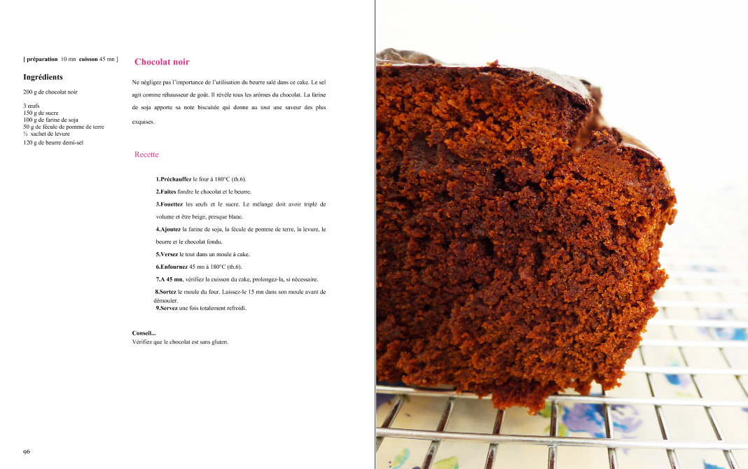 cake chocolat noir sans gluten