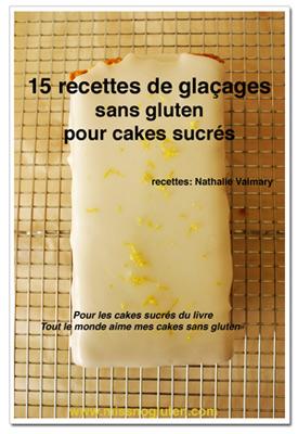 livret de glaçages cake sucrés sans gluten