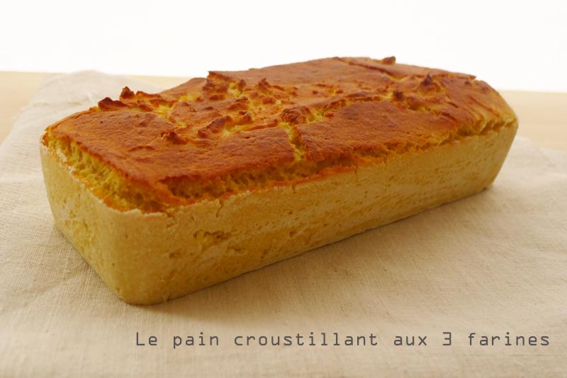 pain sans gluten croustillant